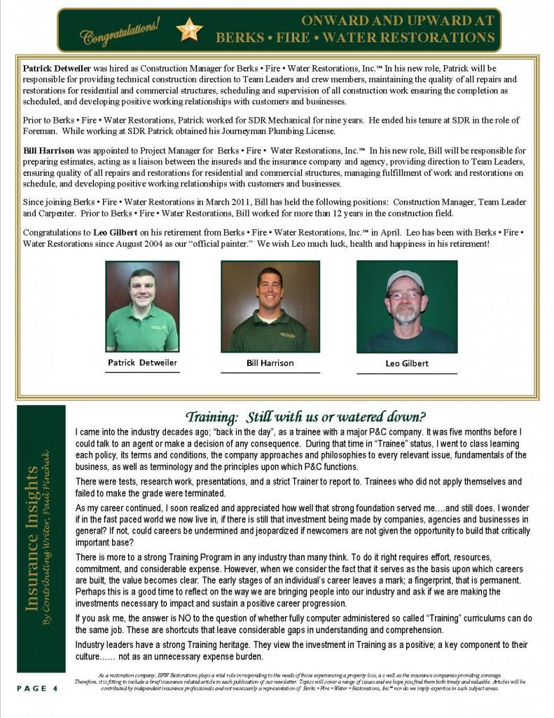 May-June Newsletter